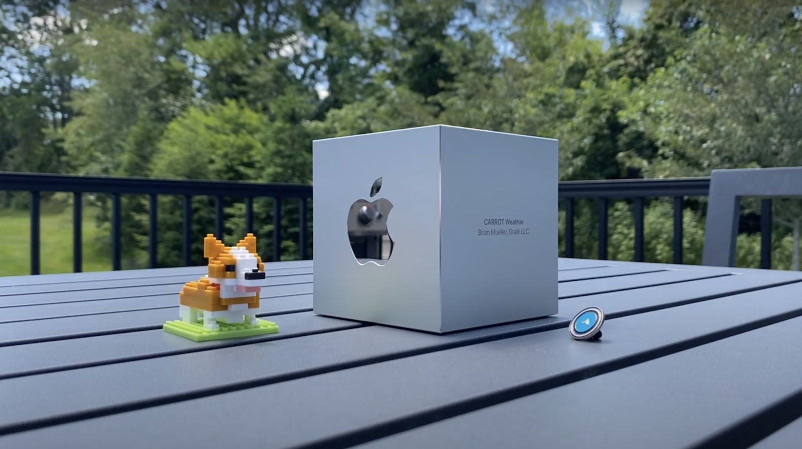 CARROT Weather Shares Humorous Unboxing of Apple Design Award
