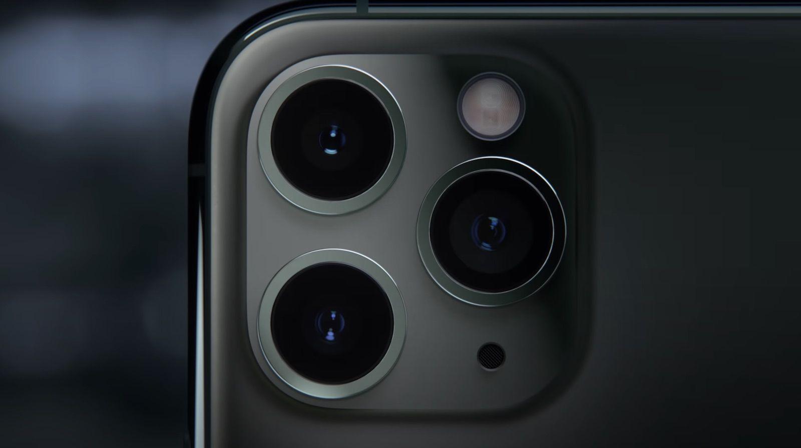 iphone 11 pro camera lenses.'