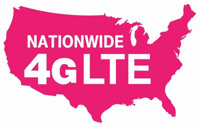 T Mobile Nationwide 4G LTE