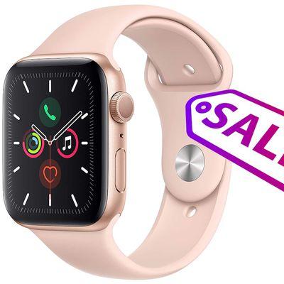 apple watch series 5 gold sale