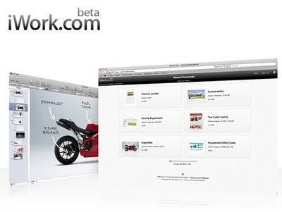 iwork com screen