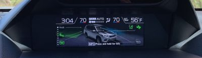 subaru forester safety systems