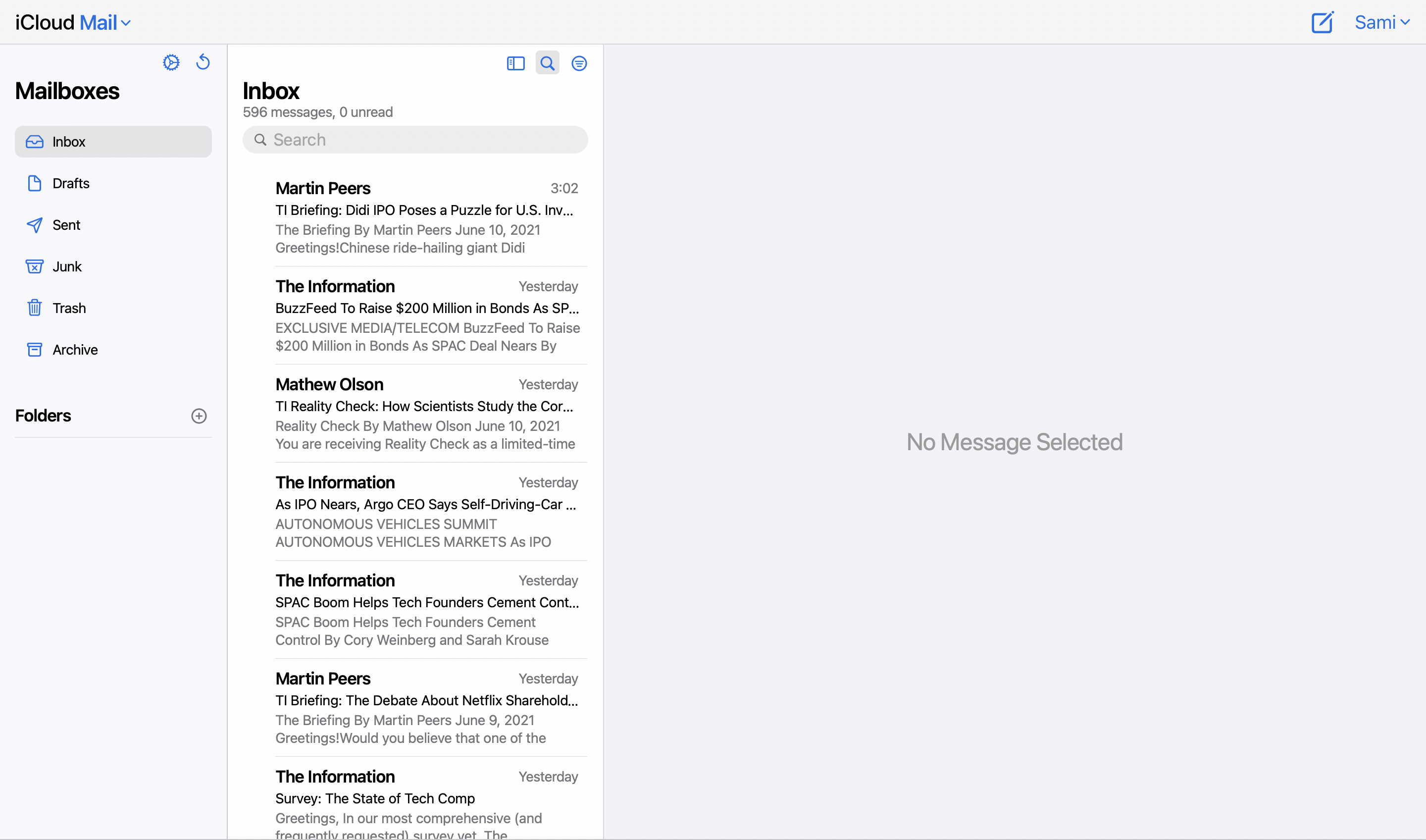 photo of Apple Working on Redesigned iCloud Mail for Web image