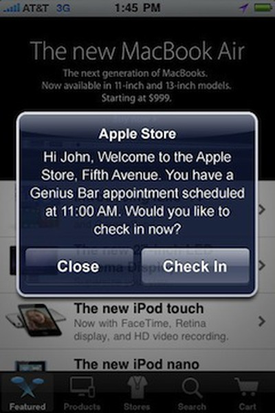 092904 apple store app appointment