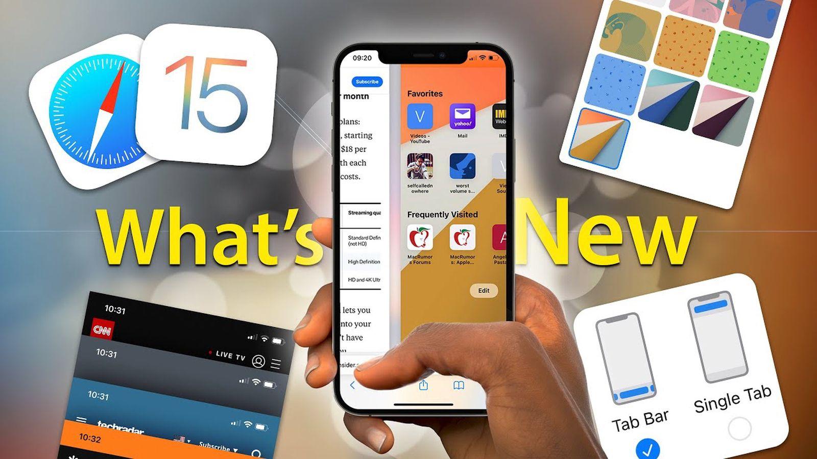 iOS 15 Safari Tips and Tricks Video