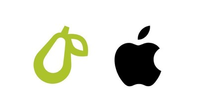 Apple claims all fruit in logos: company sues Prepear for pear image