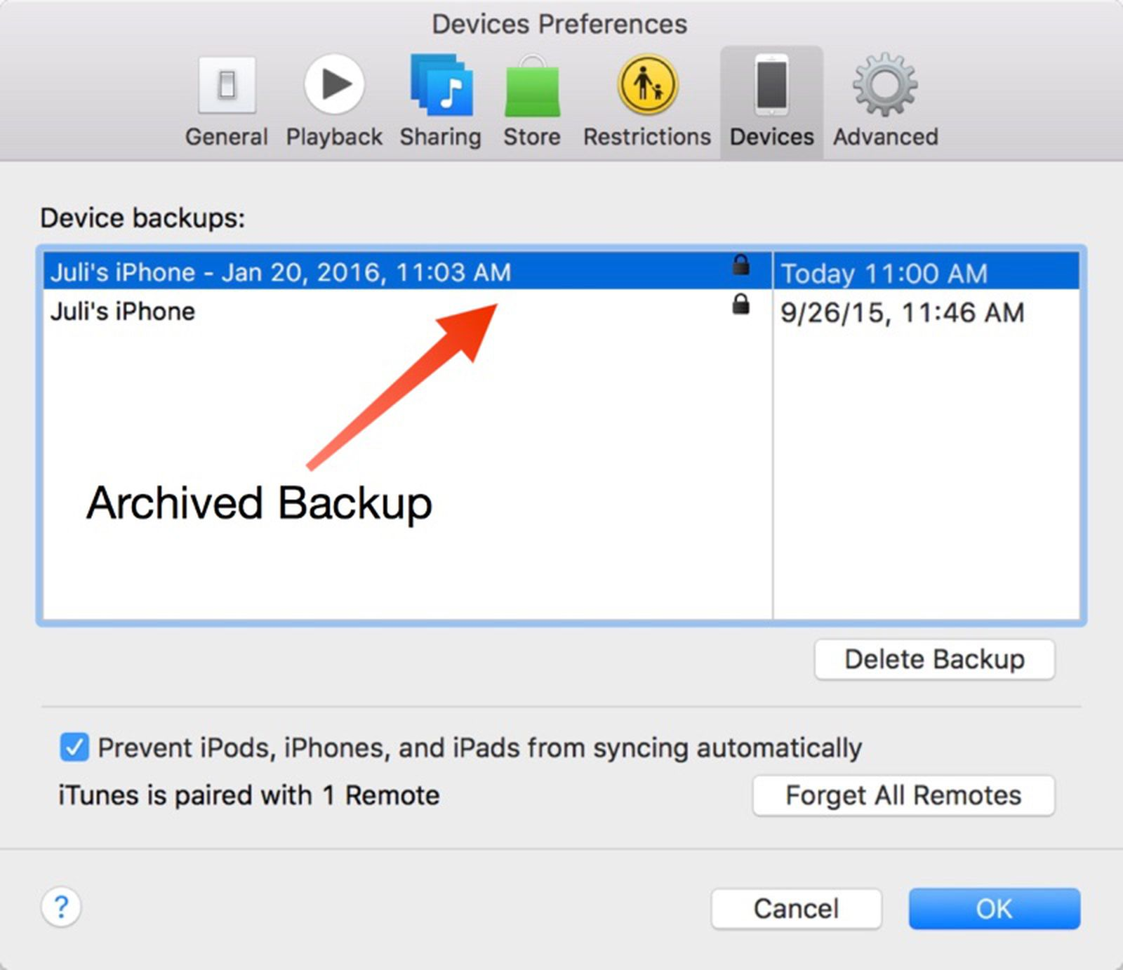 How To Easily Change the iOS iTunes Backup Location to an External ...