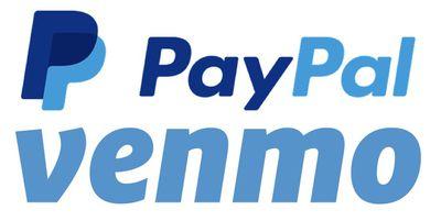 paypal venmo logos