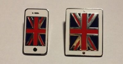 apple london olympic pins 2
