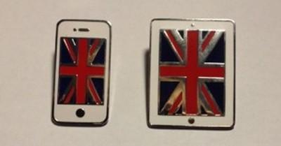 apple london olympic pins 2