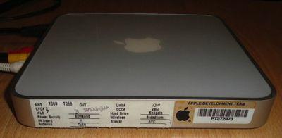 apple tv prototype side