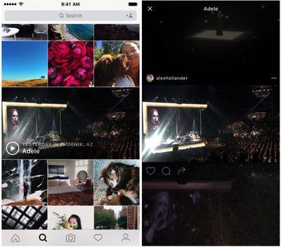 Instagram events