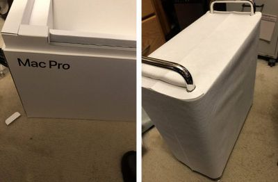 new mac pro delivered