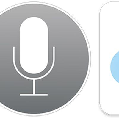 Siri iCloud icons