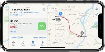 st louis apple maps