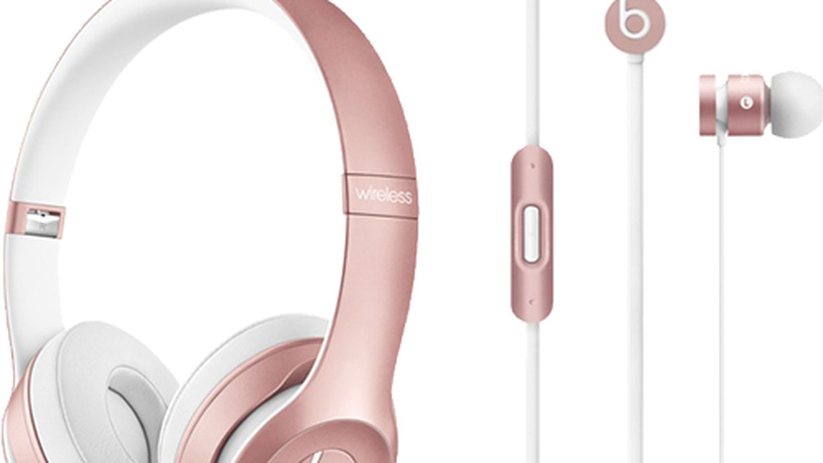 Beats Solo2 Wireless and urBeats Headphones Now Available in Rose Gold -  MacRumors
