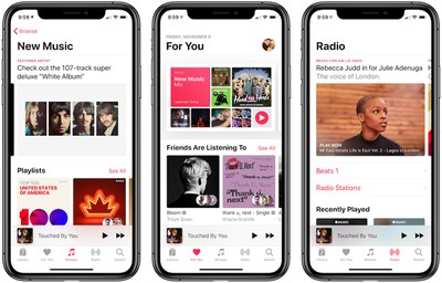 apple music image november 2018