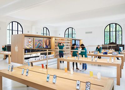 Apple Carnegie Library New Inside Library 05092019