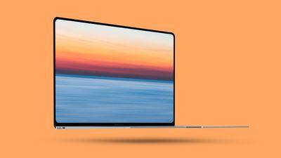 macbook air orange
