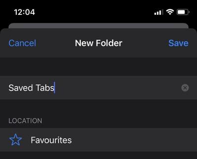 bookmark multiple safari tabs