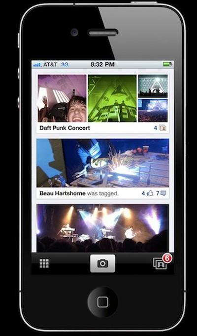 facebook photo app iphone