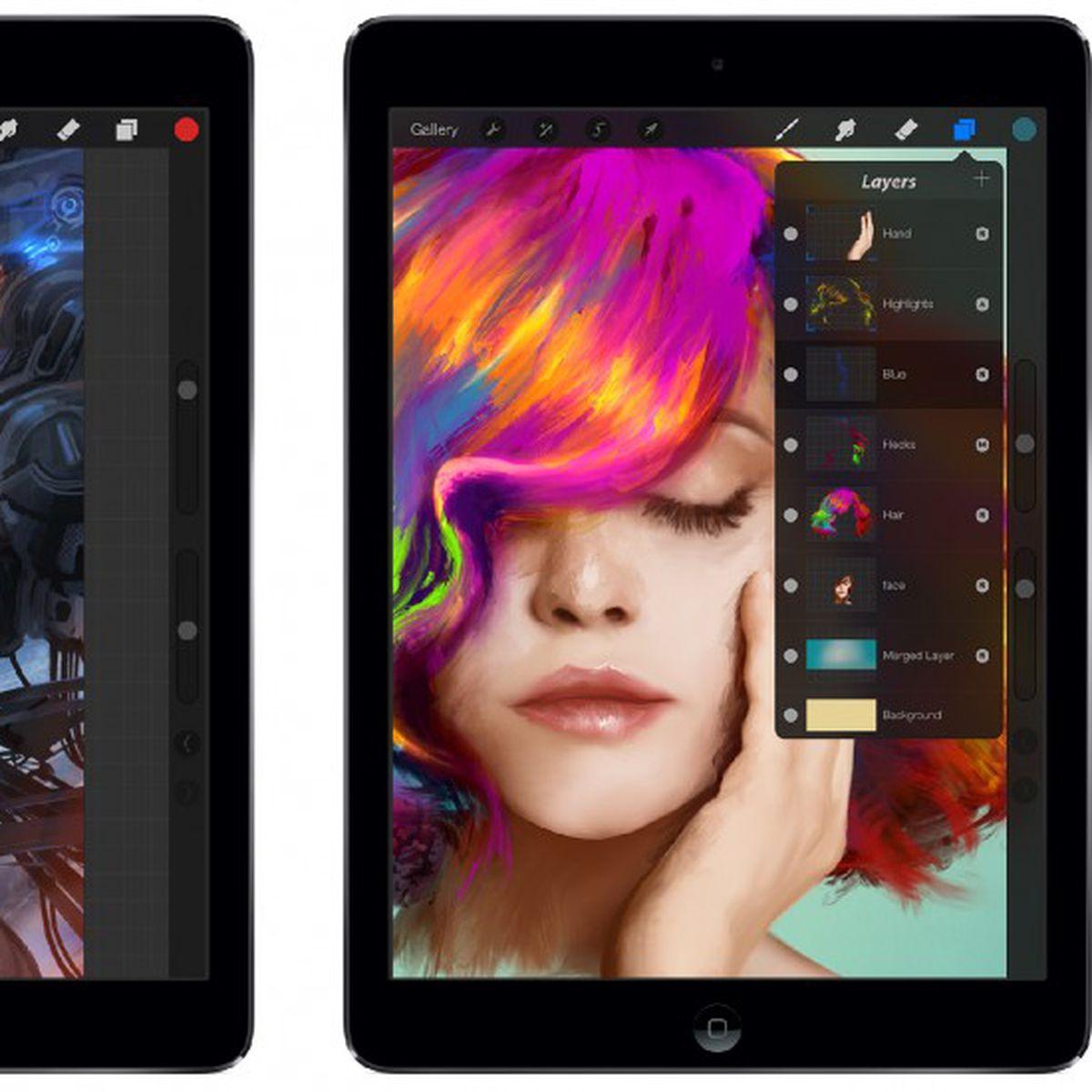 Ipad Illustration App Procreate Adds Support For 64 Bit A7 Processor 4k Ultra Hd Canvas Size Macrumors