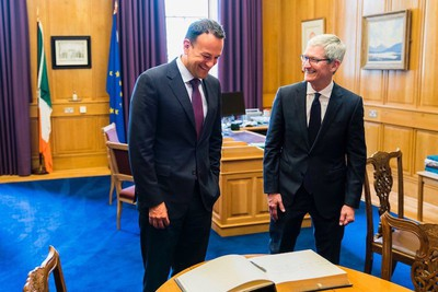 tim cook pm ireland