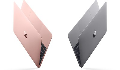 12 inch MacBook Rose Gold color