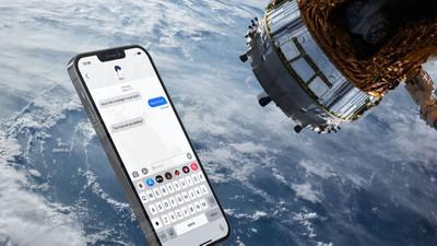 Fonctionnalité iPhone LEO dans l'espace
