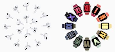 airpods pro opposite apple watch series 5