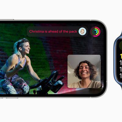 apple fitness plus shareplay