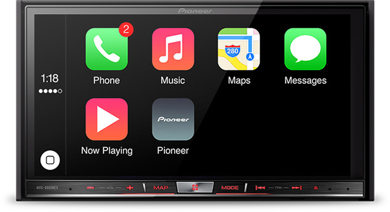 Pioneer CarPlay NEX