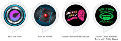 Echo Button Alexa Skills