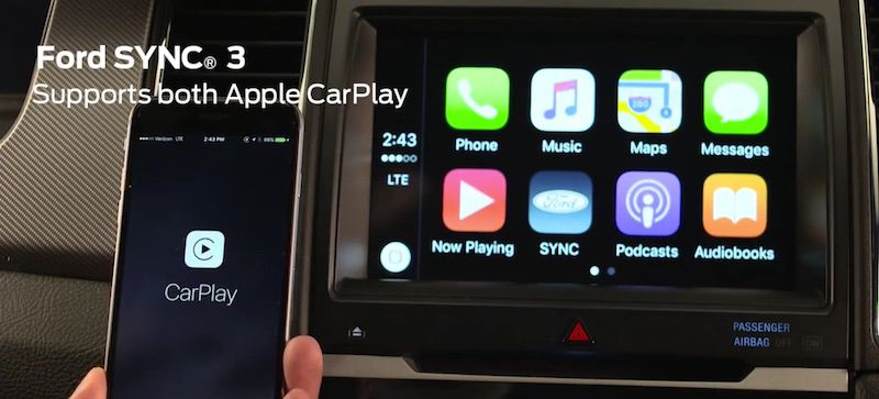 Ford-SYNC-3-CarPlay