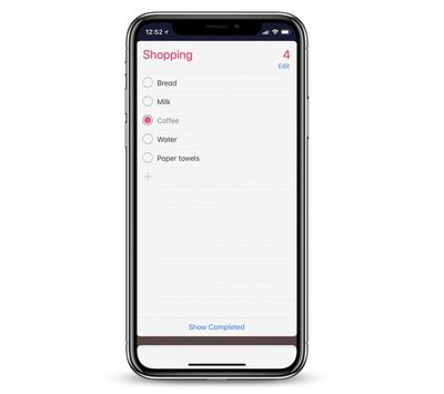 homepod reminders