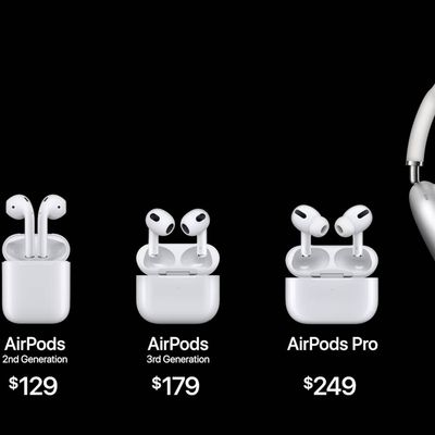 airpods lineup 2021