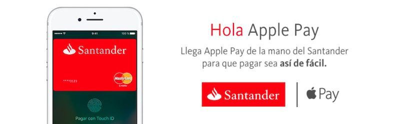 Apple Pay Santander Spain