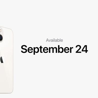 iphone 13 september 24