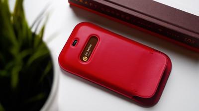 leather sleeve iphone 12 thumb