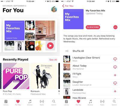 apple music update 1