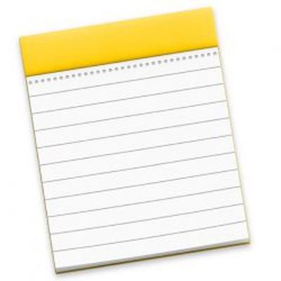 Notes mac App Icon