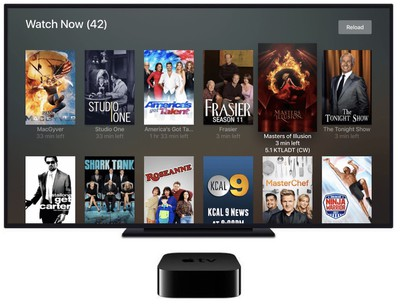 plex apple tv live tv