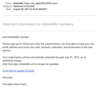 mobileme icloud phishing email