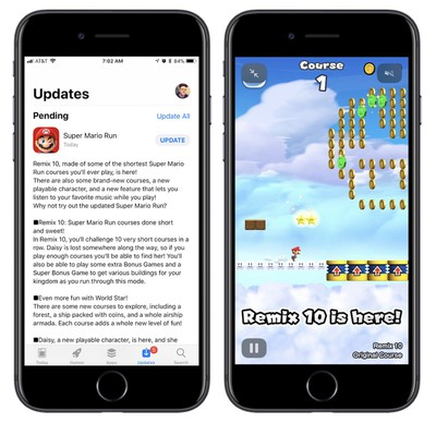 super mario run update early
