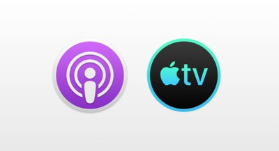 podcasts tv mac icons