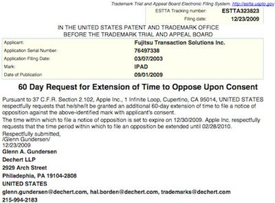 153247 apple ipad opposition