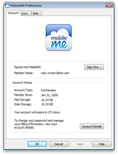 223425 mobileme control panel for windows