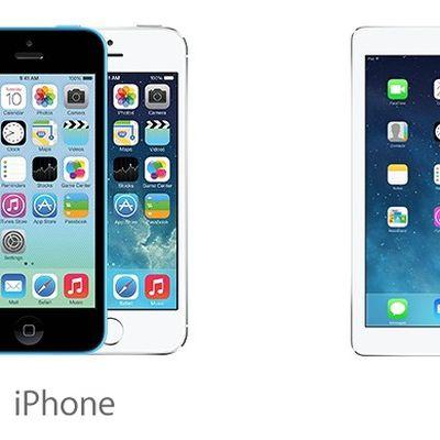 iphone 5s 5c ipads