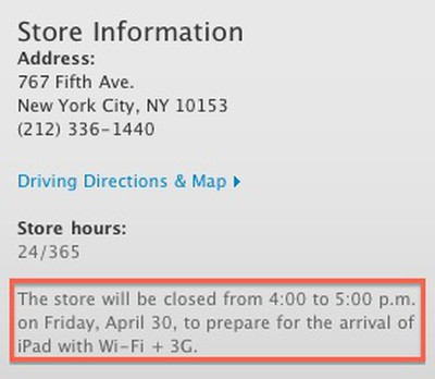 233448 fifth avenue ipad 3g closing