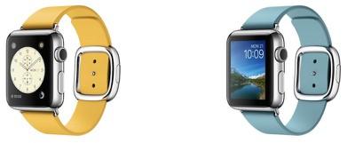 Apple Watch modern buckle marigold